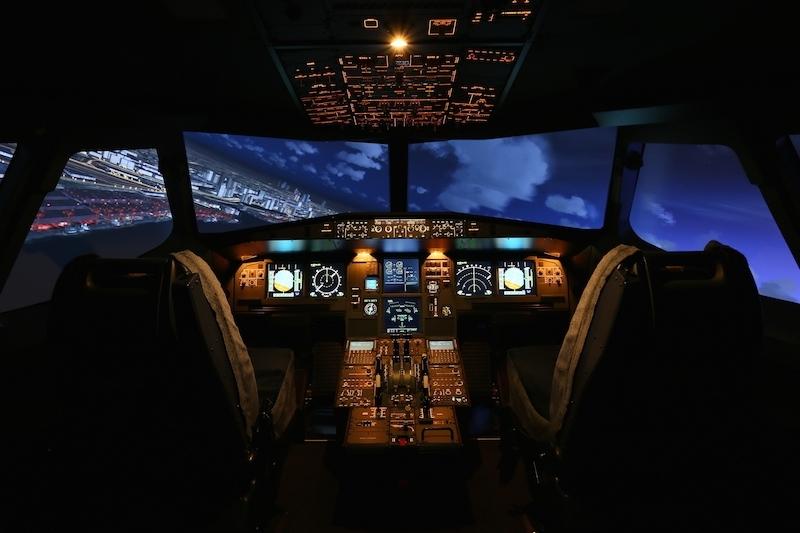 夜間の飛行2
